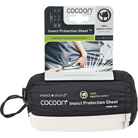 Cocoon Insect Protection Sheet Doppio, bianco